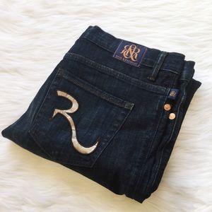 Rock and Republic Kasandra Bootcut Dark Jeans